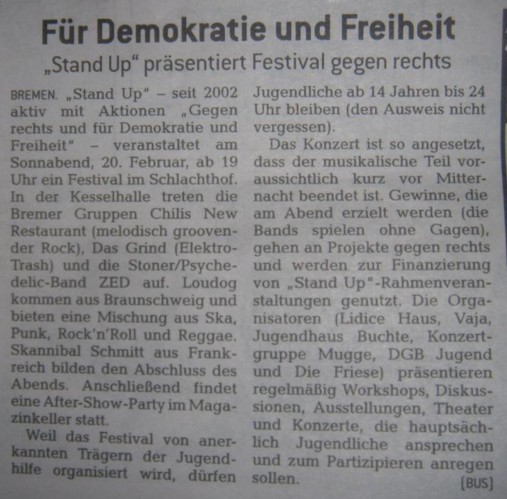 Stand Up Konzert Bremen